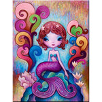 Mermaid Girl - Diamond Painting Kit