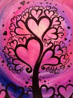 Heart Tree - Diamond Painting Kit