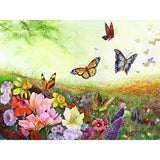 Butterfly Freshworld - Paint By Number Kit