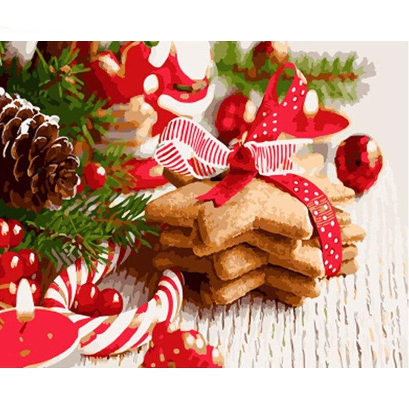 Cookies & Ornaments - Paint By Number Kit