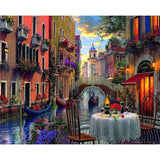 Water City Venice - Paint By Number Kit
