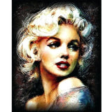 Classy Marilyn Monroe - Paint By Number Kit