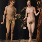 Adam and Eve - Diamond Painting Kit