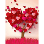 Heart 3D Tree - Diamond Painting Kit