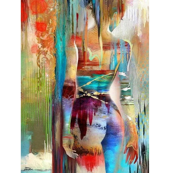 Abstract Woman - Diamond Painting Kit