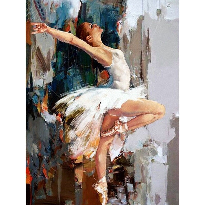 Ballet Dance Girl Diamond Painting Kit