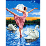 Ballet On Water - Paint By Number Kit