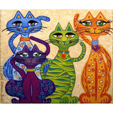 Cat Friends - Diamond Painting Kit