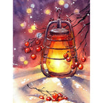 Cherry Lantern - Diamond Painting Kit