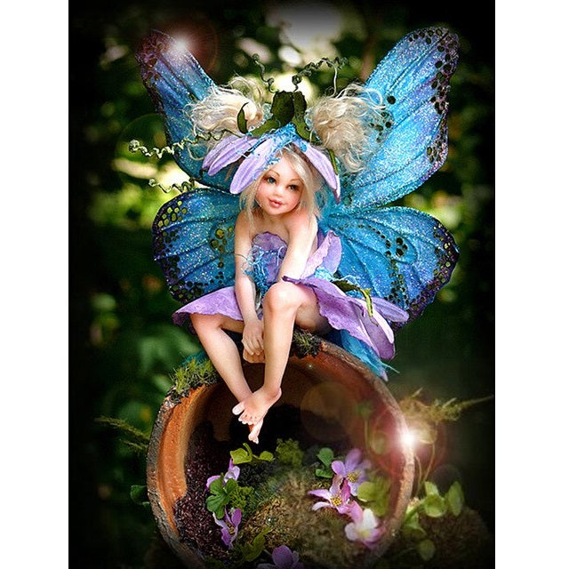 Cute Butterfly Fairy diamond Painting kit