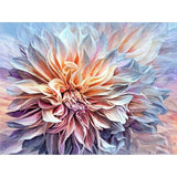 Ethereal Dahlia Flower Diamond Painting Kit