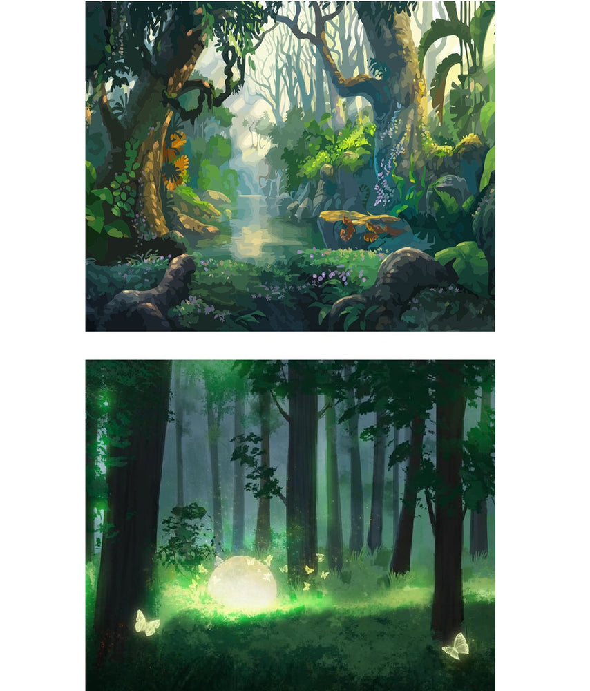 Forest Beauty - Paint By Number Kit