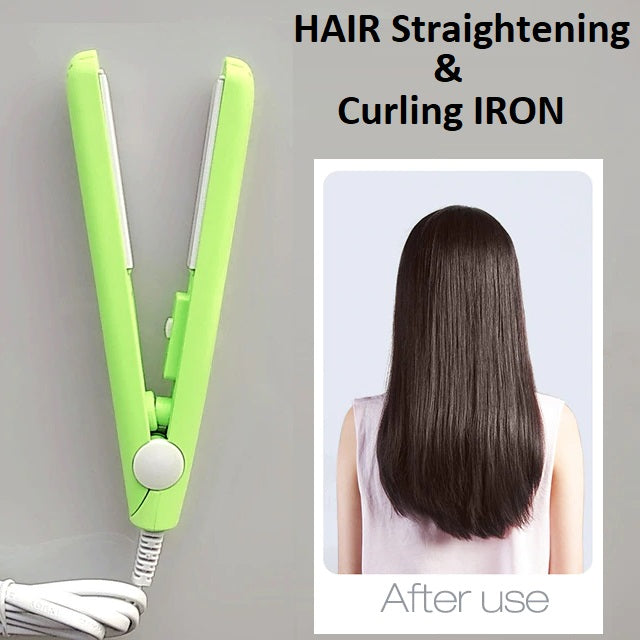Hair Straightening & Curling Iron