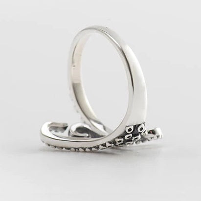 Kraken - Octopus 925 Sterling Silver Ring