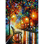 Parklane Bench - Diamond Painting Kit