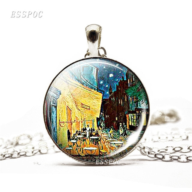 Van Gogh's Art Painting Necklaces