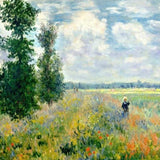 Claude Monet's Poppy Fields near Argenteuil - Paint By Number Kit