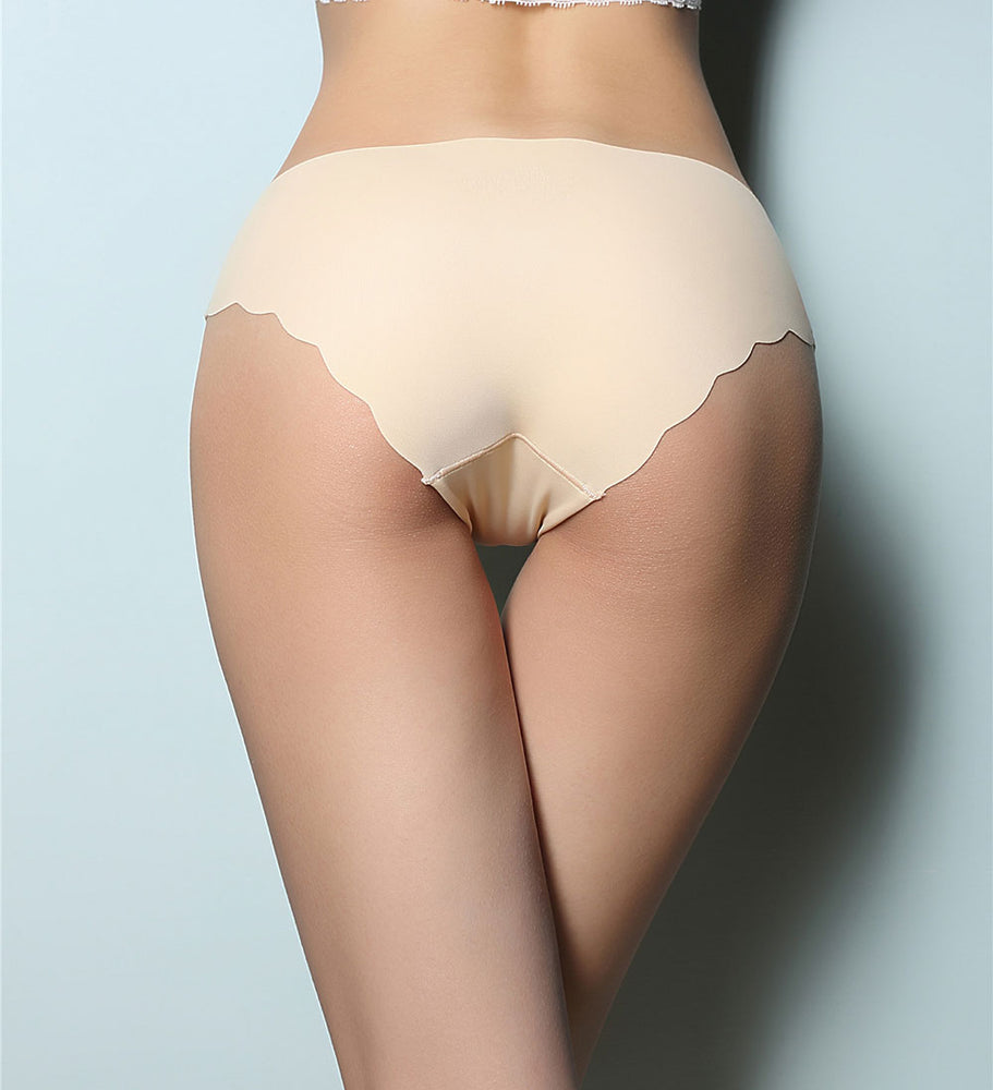 Low Rise Ultra-Thin Seamless Ruffle Panties