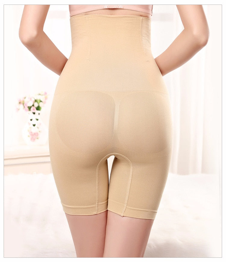 High Waist Tummy Shaper Shorts
