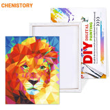 Diamond Lion - Paint By Number Kit