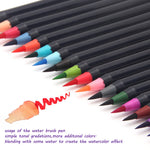 Elton - Watercolor Brush Pens ( 20 Piece Set )