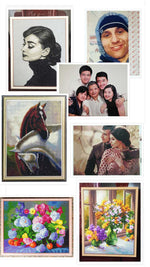 Customized Photo Diamond Painting Kit (Square Drill Option)