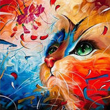 Cat Strokes - Paint By Number Kit
