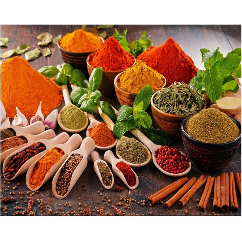 Kitchen Spices Diamond Painting Kit