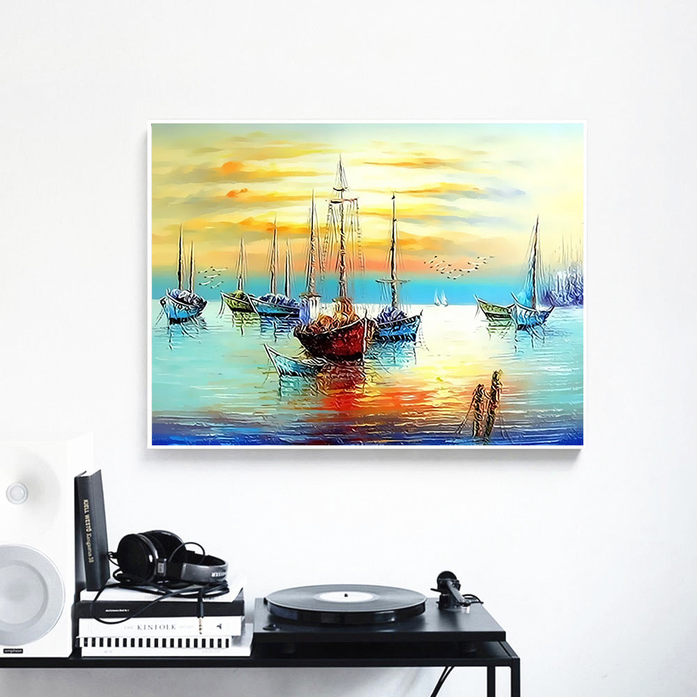 Sailboat - Paint By Number Kit
