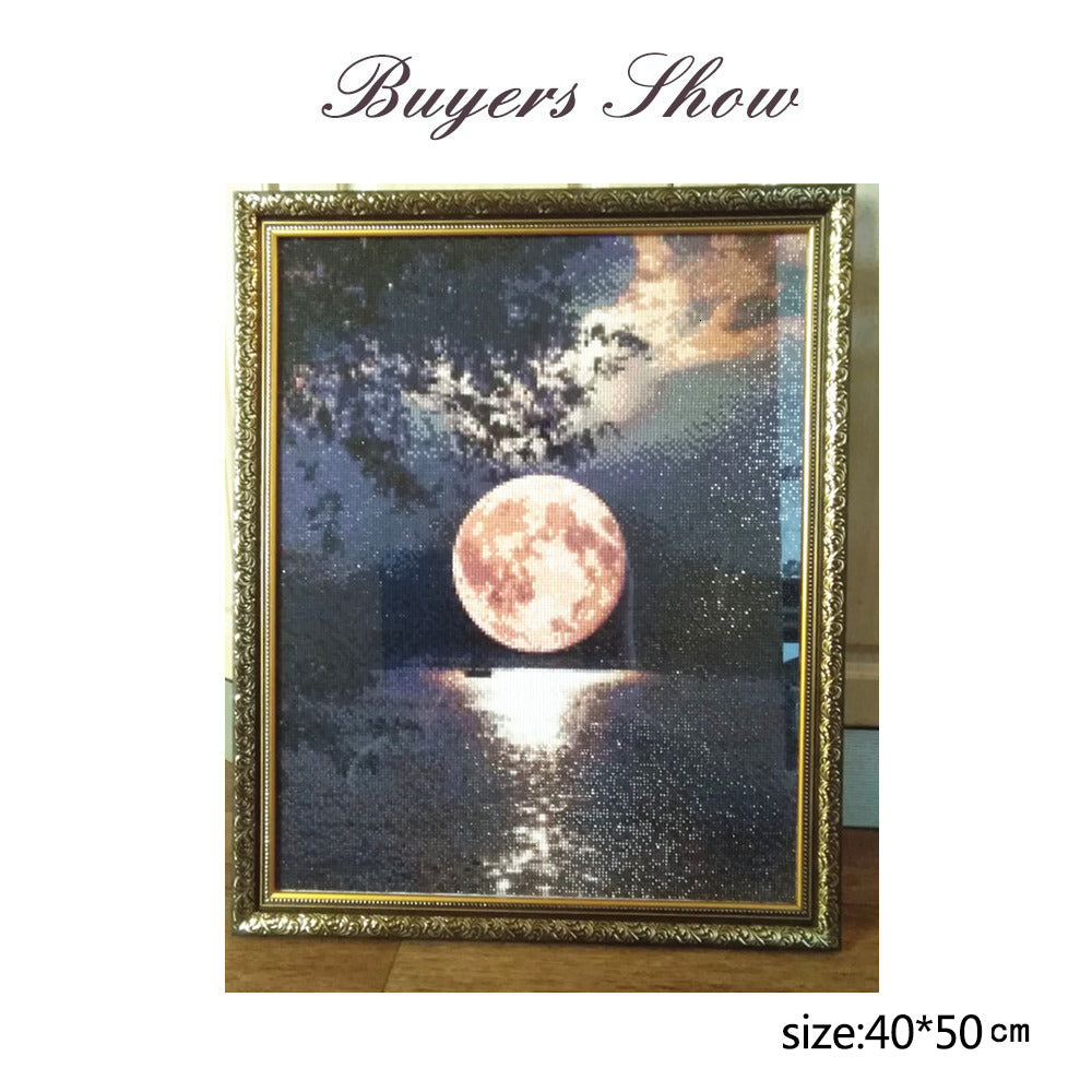 Lake Moon - Diamond Painting Kit