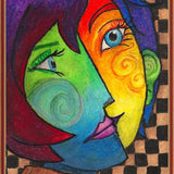 Two Faces - Diamond Painting Kit