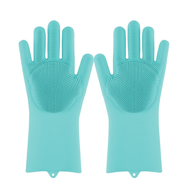 Scrubber Cleaning Gloves