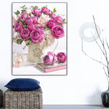 Pretty In Pink Rose - Diamond Painting Kit