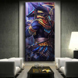 Egyptian God Anubis - Diamond Painting Kit