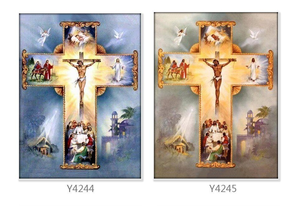 Jesus Cross Story - Diamond Painting Kit