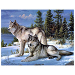 Mountain Wolf - Diamond Painting Kit