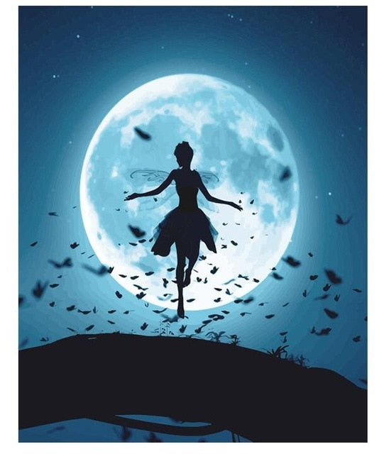 Fairy Dance In Moonlight - Paint By Number Kit