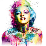 Rainbow Marilyn Monroe - Diamond Painting Kit