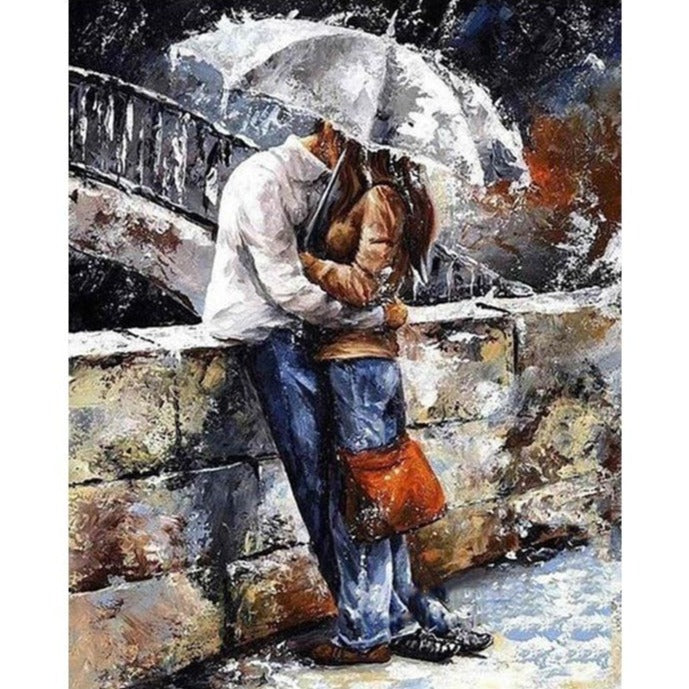Romantic Couple - Paint By Number Kit