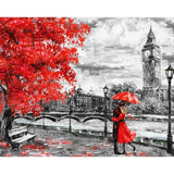 London Lovers - Paint By Number Kit