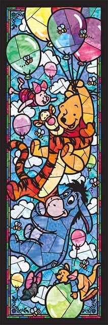 Cartoon Glass Paintings - Diamond Painting Kit