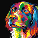 Dog Pop Art - Paint By Number Kit