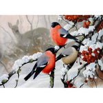 Winter Birds - Diamond Painting Kit