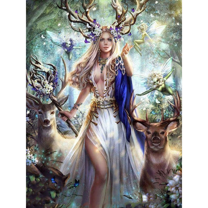 Deer Beauty - Diamond Painting Kit