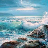 Crashing Waves Paint By Number Kit