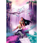 Princess Waterfall - Diamond Painting Kit