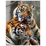 Tiger Portrait - Diamond Painting Kit