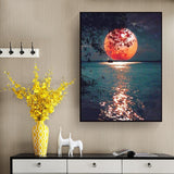 Sensual Moon - Diamond Painting Kit