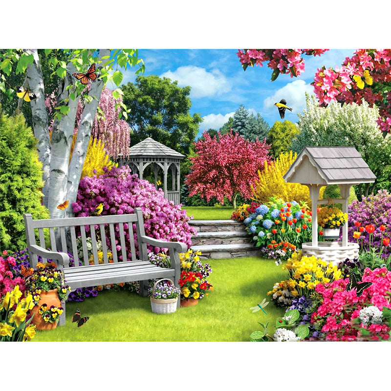 Splendid Garden - Diamond Painting Kit