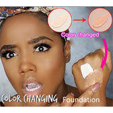 SkinMatch Color Changing Liquid Foundation